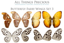 Load image into Gallery viewer, 82 BUTTERFLY FAIRY WING OVERLAYS BUNDLE - Set 7