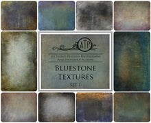 Load image into Gallery viewer, 10 Fine Art TEXTURES - BLUESTONE  Set 1