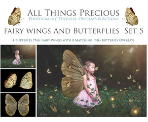 FAIRY WINGS and BUTTERFLIES Set 5