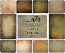 Load image into Gallery viewer, 10 Fine Art TEXTURES - CANVAS Set 9