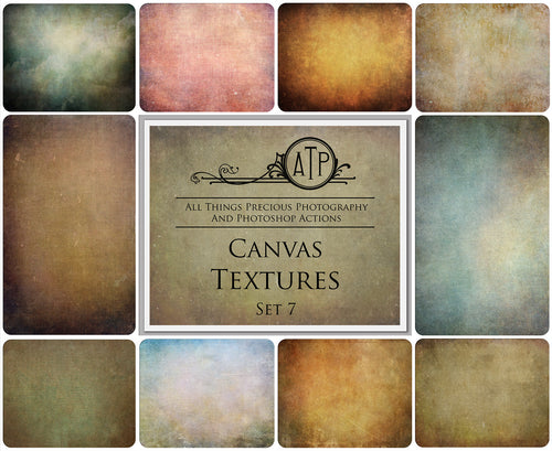 10 Fine Art TEXTURES - CANVAS Set 7