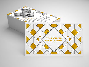 BUSINESS CARD - PSD Template No. 3