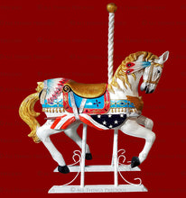 Load image into Gallery viewer, CAROUSEL HORSE & UNICORN Digital Overlays Clipart