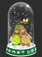 Load image into Gallery viewer, CHRISTMAS GLASS DOME Png Digital Overlays and PSD Template