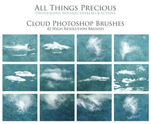 Load image into Gallery viewer, CLOUD Photoshop Brushes