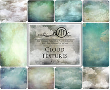 Load image into Gallery viewer, 10 Fine Art TEXTURES - CLOUD Set 3