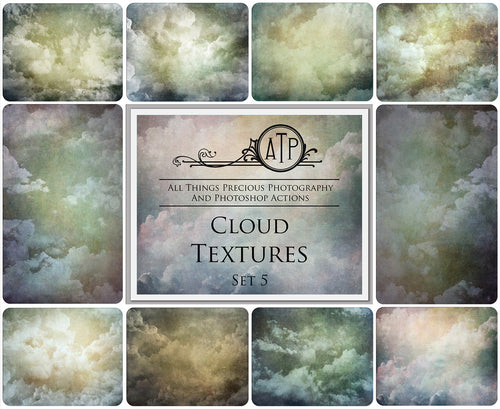 10 Fine Art TEXTURES - CLOUD Set 5