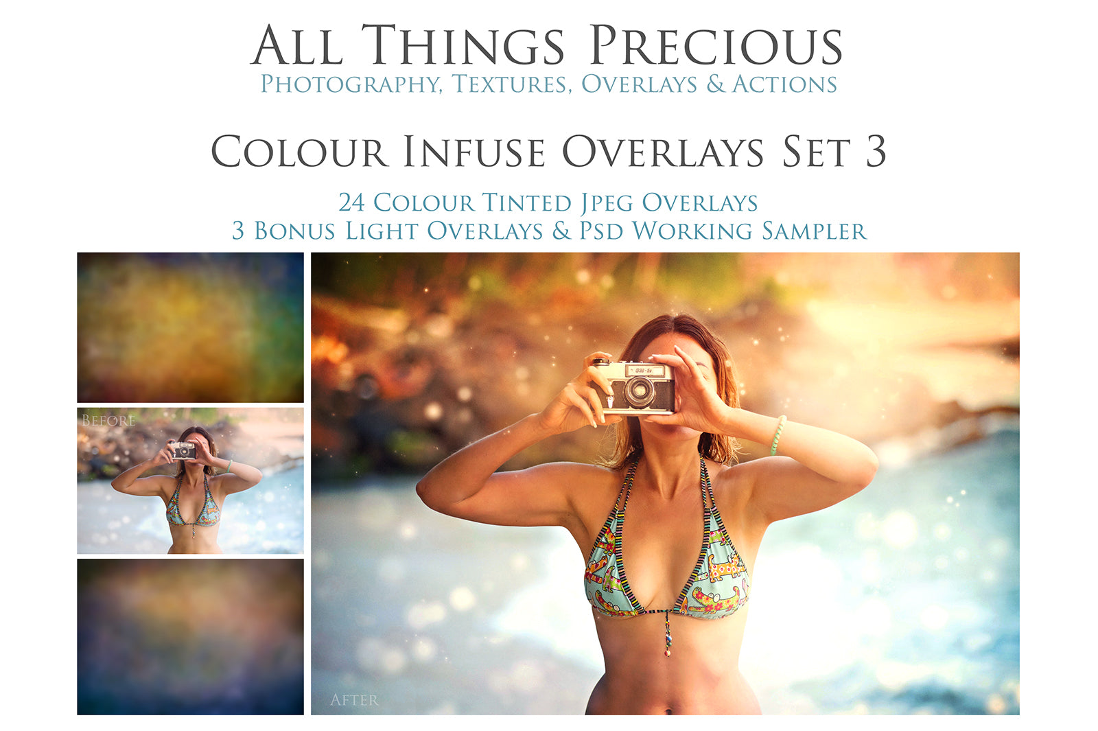 24 COLOUR INFUSE Digital Overlays Set 3