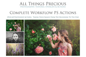 COMPLETE WORKFLOW PROFESSIONAL Photoshop Actions