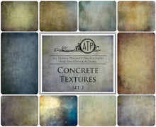 Load image into Gallery viewer, 10 Fine Art TEXTURES - CONCRETE Set 3