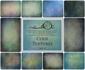 10 Fine Art TEXTURES - COOL Set 4