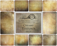 Load image into Gallery viewer, 10 Fine Art TEXTURES - CREAMY Set 12
