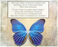 Load image into Gallery viewer, PNG FAIRY WINGS for CRICUT - Set 9