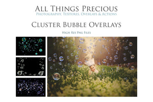CLUSTER BUBBLE Digital Overlays