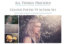 Load image into Gallery viewer, COLOUR POETRY Photoshop Actions