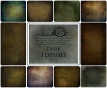 Load image into Gallery viewer, 10 Fine Art TEXTURES - DARK Set 3