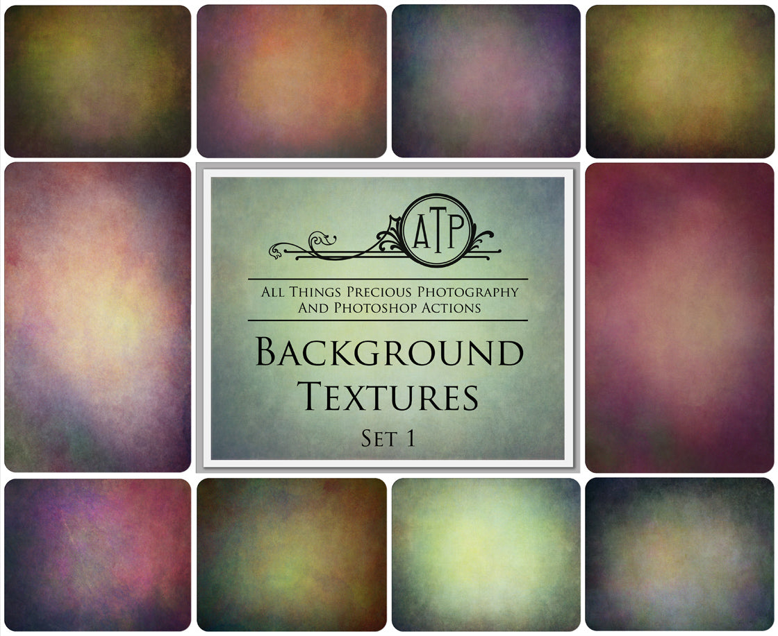 10 Fine Art TEXTURES - BACKGROUND Set 1