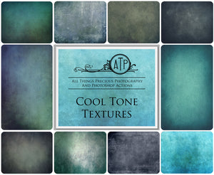 10 Fine Art TEXTURES - COOL Set 1