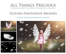 Load image into Gallery viewer, FEATHER Photoshop Brushes