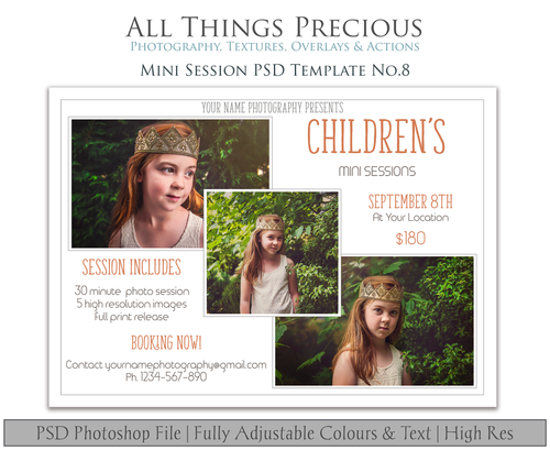 MINI SESSION - PSD Template No. 8