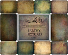Load image into Gallery viewer, 10 Fine Art TEXTURES - EARTHY Set 8