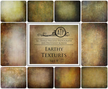 Load image into Gallery viewer, 10 Fine Art EARTHY High Resolution TEXTURES Set 9