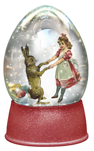 SNOW GLOBE Png Digital Overlays and PSD Template No.9