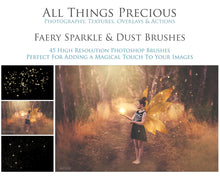 Load image into Gallery viewer, FAIRY SPARKLE & DUST Photoshop Brushes
