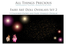 Load image into Gallery viewer, ART DOLL FAIRY Digital Overlays Set 2