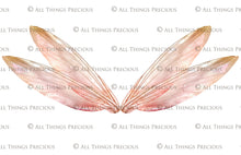 Load image into Gallery viewer, 20 Png TRANSPARENT FAIRY WING Overlays Set 19