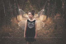 Load image into Gallery viewer, 14 Png WHITE FAIRY WING Overlays Set 2