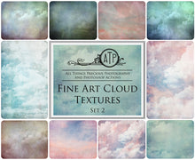 Load image into Gallery viewer, 10 Fine Art TEXTURES - CLOUD Set 2