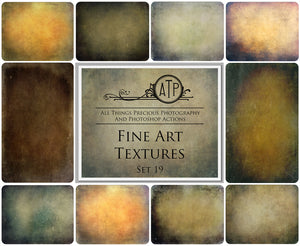 10 FINE ART High Resolution TEXTURES Set 19