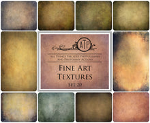 Load image into Gallery viewer, 10 FINE ART TEXTURES - Set 20