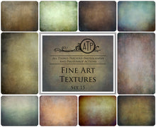 Load image into Gallery viewer, 10 FINE ART High Resolution TEXTURES Set 15