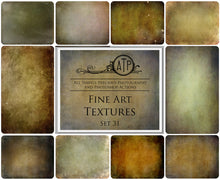 Load image into Gallery viewer, 10 FINE ART High Resolution TEXTURES Set 31