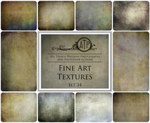 Load image into Gallery viewer, 10 FINE ART High Resolution TEXTURES Set 14