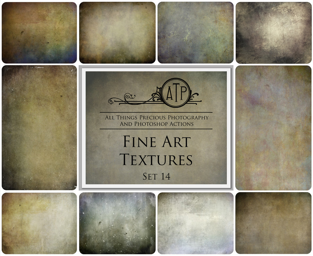 10 FINE ART High Resolution TEXTURES Set 14