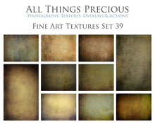 Load image into Gallery viewer, 10 FINE ART TEXTURES - Set 39