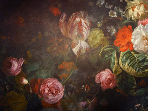 10 OLD MASTERS Floral Background TEXTURES / DIGITAL BACKDROPS  - Set 15