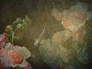 10 OLD MASTERS Floral Background TEXTURES / DIGITAL BACKDROPS  - Set 5