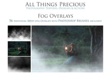 Load image into Gallery viewer, FOG Digital Overlays with Photoshop Brushes