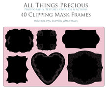Load image into Gallery viewer, CLIPPING MASK FRAMES - Clipart