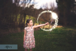 FAIRY WAND AND SPARKLES Digital Overlays