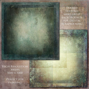 10 Fine Art TEXTURES - FRAMED Set 6