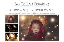 Load image into Gallery viewer, NEBULA GLOWS Digital Overlays