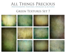 Load image into Gallery viewer, 10 Fine Art TEXTURES - GREEN Set 7