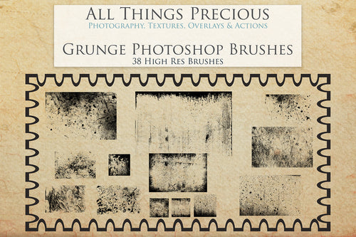 GRUNGE PHOTOSHOP BRUSHES