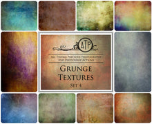 Load image into Gallery viewer, 10 Fine Art TEXTURES - GRUNGE Set 4