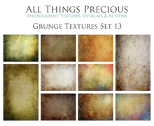 Load image into Gallery viewer, 10 Fine Art TEXTURES - GRUNGE Set 13